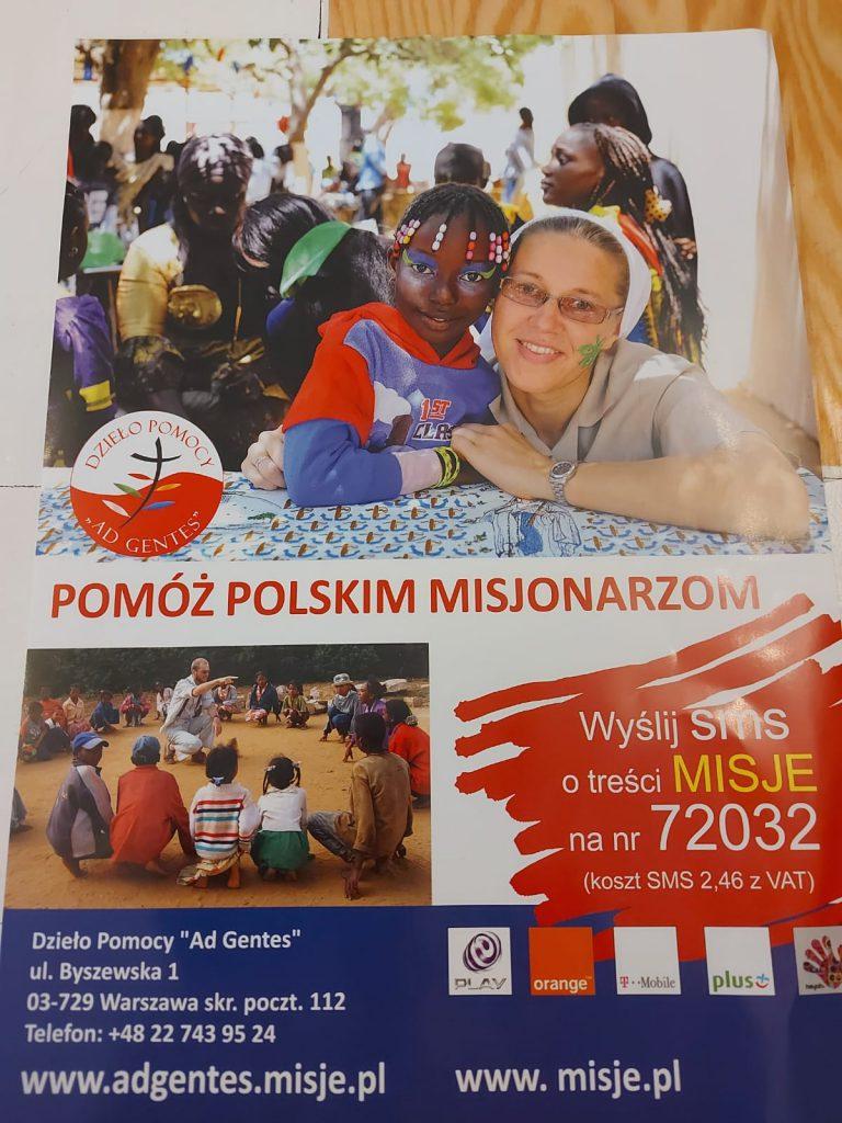 Wspieramy misjonarzy